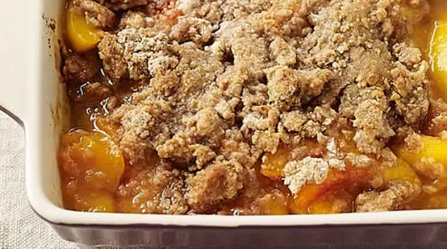 BIGGEST LOSER PEACH CRUMBLE