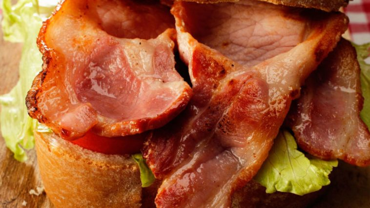This Bacon Trick Will Make Sure You Get A Mouthful of Bacon In Every Bite of Your Next BLT