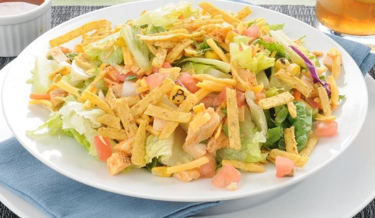 Chicken Taco Salad (Weight Watchers)
