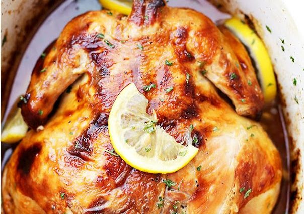 CROCK POT HONEY LEMON CHICKEN RECIPE