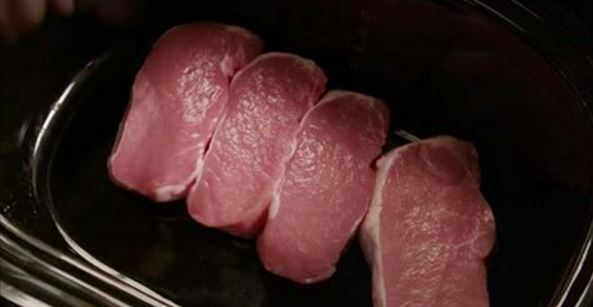 See how to make sweet ginger pork chops