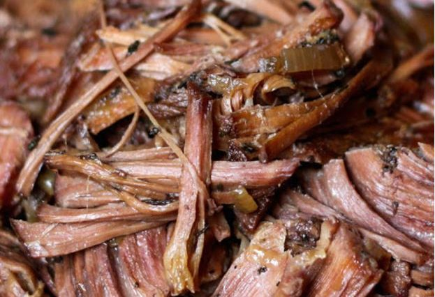Slow-Cooker Italian Red Wine Roast Beef