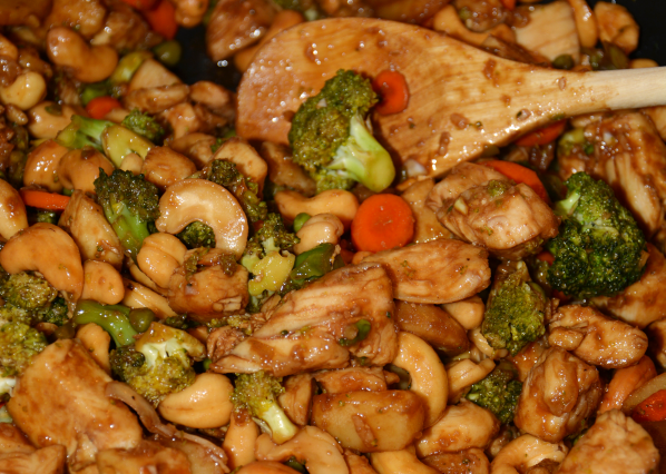 CROCK POT CASHEW CHICKEN RECIPE