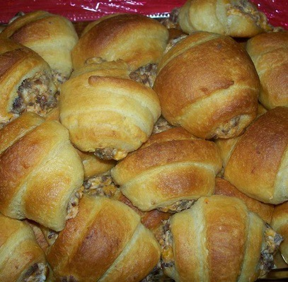 Sausage Cream Cheese Crescents