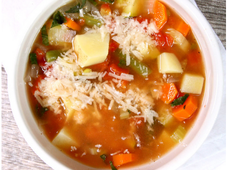 EASY VEGETABLE SOUP 3 SMARTPOINTS