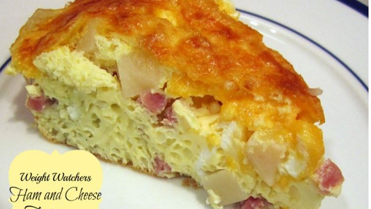 Weight Watchers Ham and Cheese Frittata
