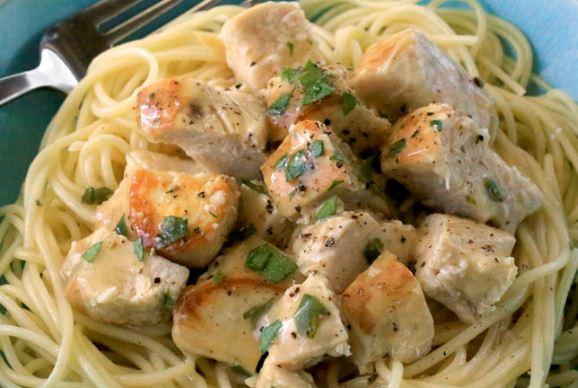 Lemon Garlic Slow Cooker Chicken Recipe