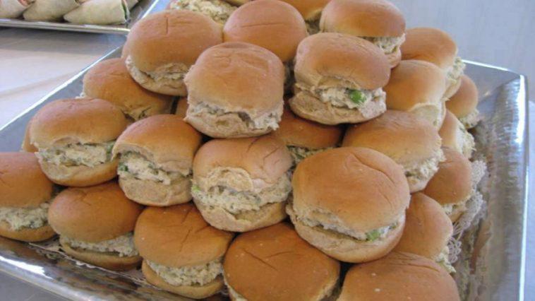 Mini Chicken Salad Sandwiches