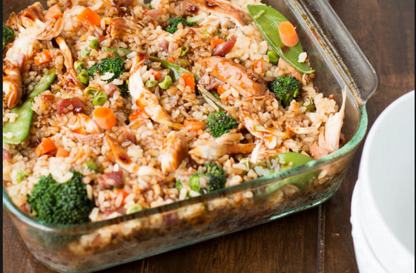 TERIYAKI CHICKEN AND RICE CASSEROLE 7 SMARTPOINTS