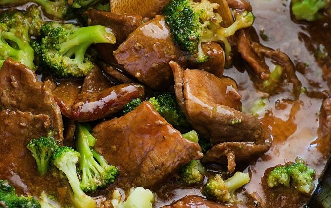 crock-pot beef and broccoli