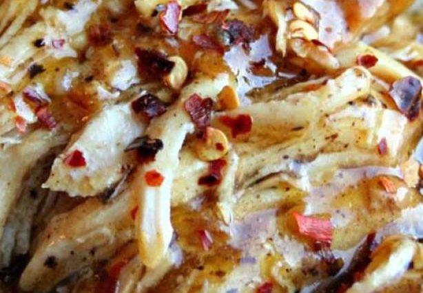 Slow Cooker Brown Sugar and Garlic Chicken