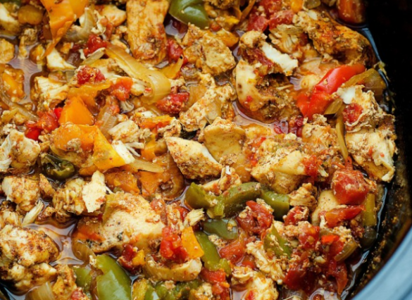 Best CROCK POT CHICKEN FAJITA Recipe