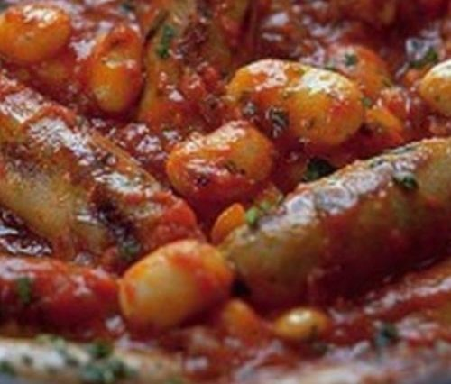Slow Cooker Sausage Cassoulet