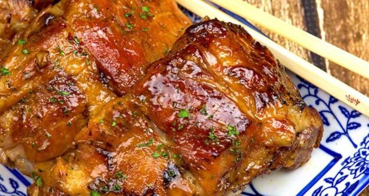 Slow Cooker 2-Ingredient Sticky Sweet & Sour Ribs