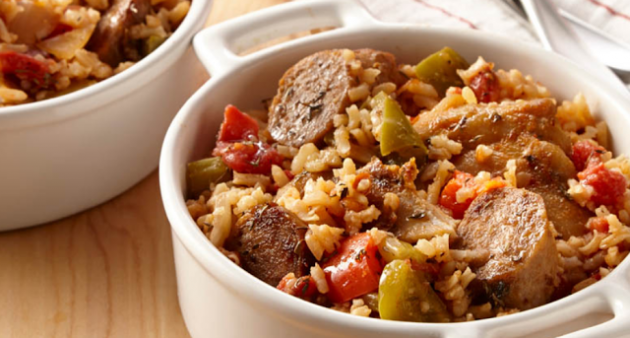 Cajun Slow Cooker Chicken with Sausage