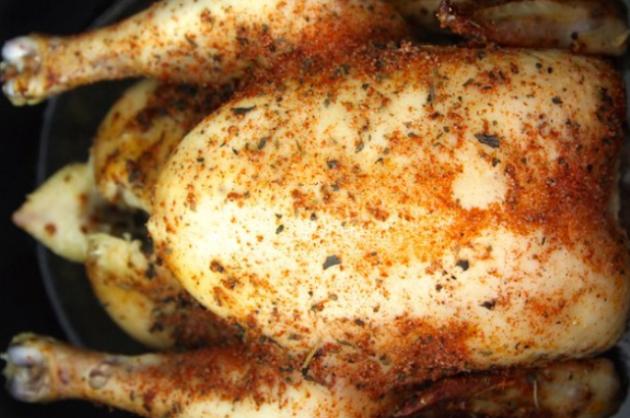 Herbed Chicken in the Slow Cooker