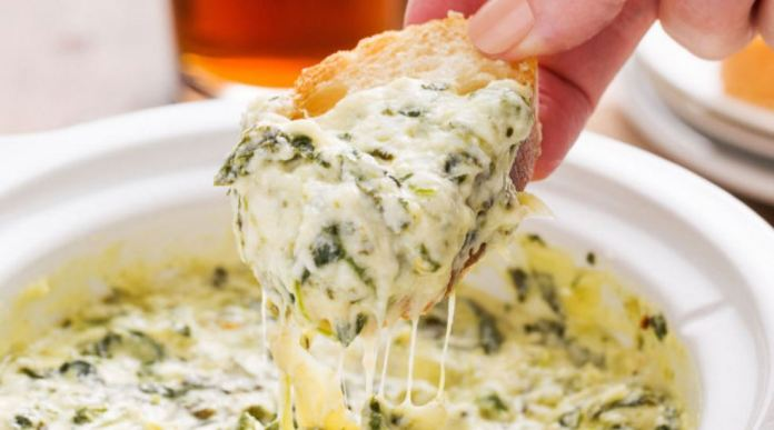 Creamy Crockpot Spinach-Artichoke Dip, An Internet Legend & Truly Addictive!