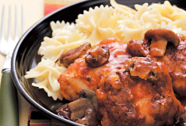 Slow Cooker Chicken Cacciatore Recipe