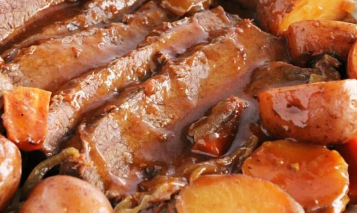 Crock Pot BBQ Brisket Recipe