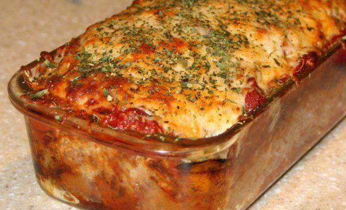 Parmesan Meatloaf (Gluten Free)