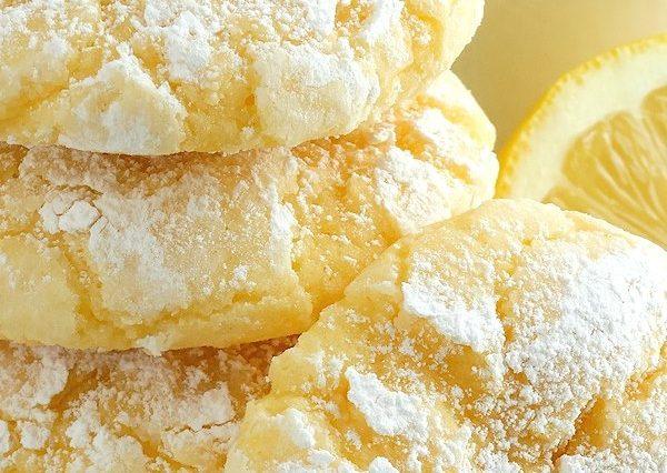 Lemon Gooey Butter Cookies – Best Ever
