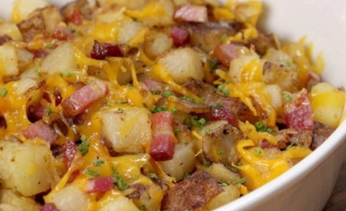 Loaded Potato Hash