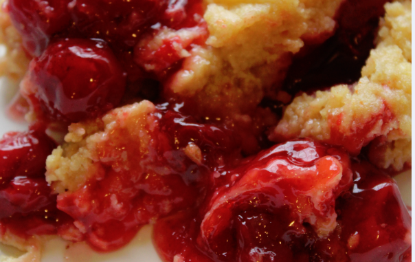 Easy Crock Pot Cherry Dump Cake