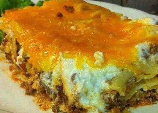 CHEESY NOODLE BAKE…..KID'S & GRANDKIDS WILL EVEN LOVE IT !!