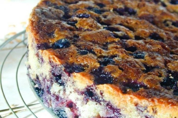 Cake Recipes Download: Blueberry Coffee Cake