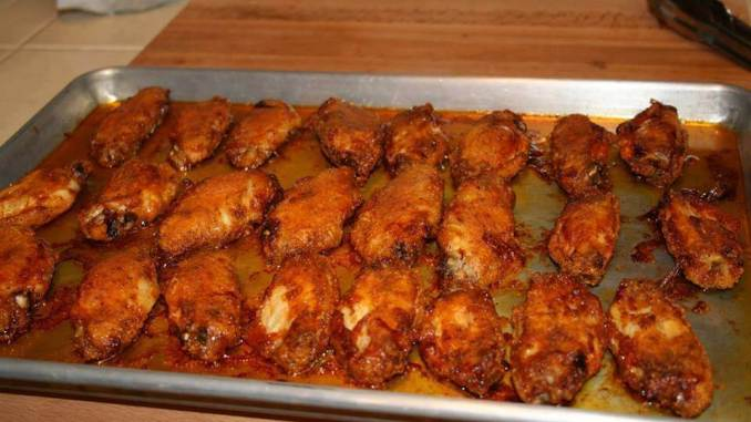 Best Oven Baked Hot Wings !