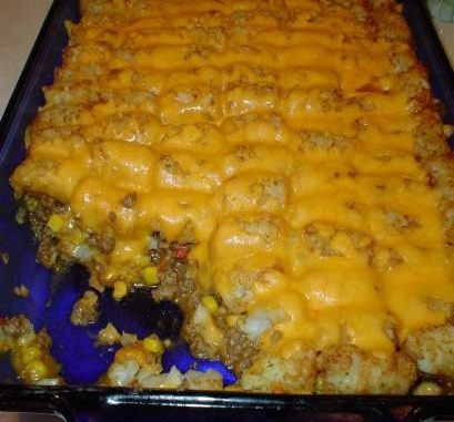 Victory's Taco Tater Tot Casserole