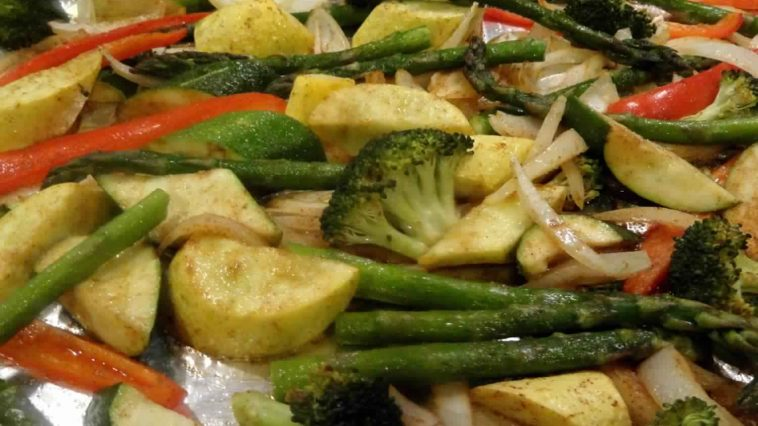 Oven Roasted Vegetables