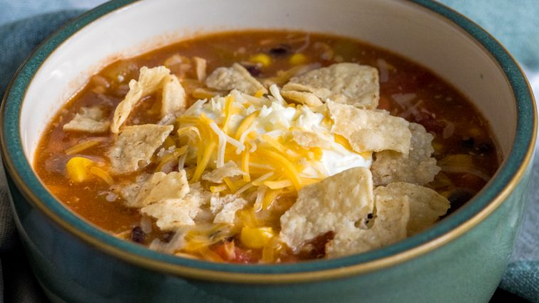 8-Can Chicken Taco Soup