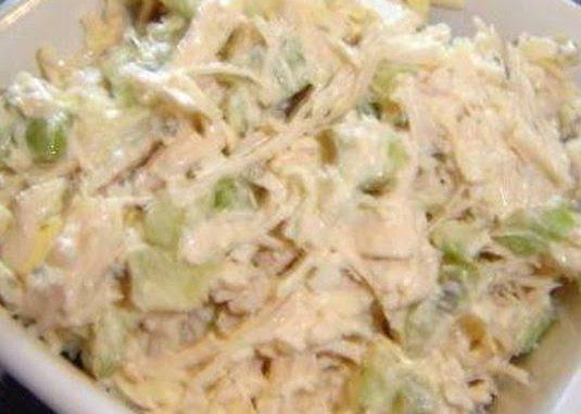 Low Carb Deviled Chicken Salad