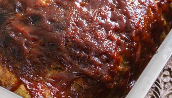 Mom's Classic Ingredient Meatloaf