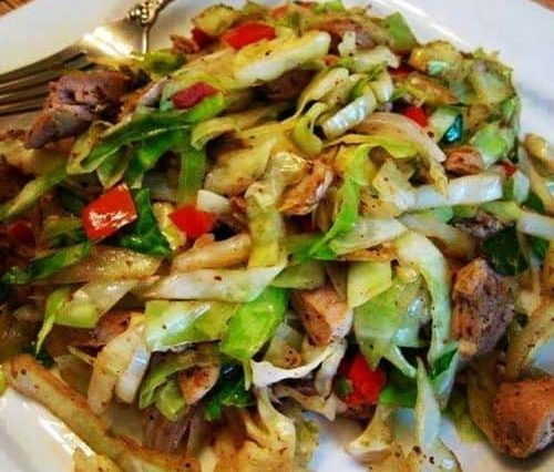 Chicken Cabbage Stir-Fry Recipe
